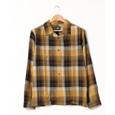 シャツ ブラウス 【STUSSY / ステューシー】 Rayon Plaiid Ls Shirt