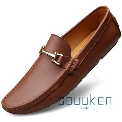 カジュアルシューズ メンズ 24.0cm-27.5cm ローカット 耐久性 柔らかい 歩きやすい 滑り止め お洒落 スリッポン 紳士靴