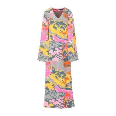 MANISH ARORA ロングワンピース&ドレス カーキ 42 シルク 100% ロングワンピース&ドレス