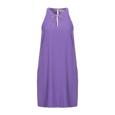 メルシー ..,MERCI ミニワンピース&ドレス パープル 38 ポリエステル 95% / ポリウレタン 5% ミニワンピース&ドレス