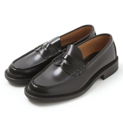 メンズローファー 革靴 リーガルコーポレーション プロフェッショナルギア ブラック 23.5〜30cm NL-68 メール便発送で