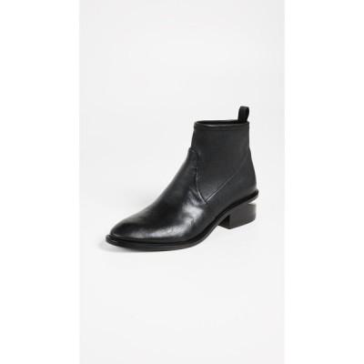 アレキサンダー ワン Alexander Wang レディース ブーツ ショートブーツ シューズ・靴 Kori Stretch Booties Black