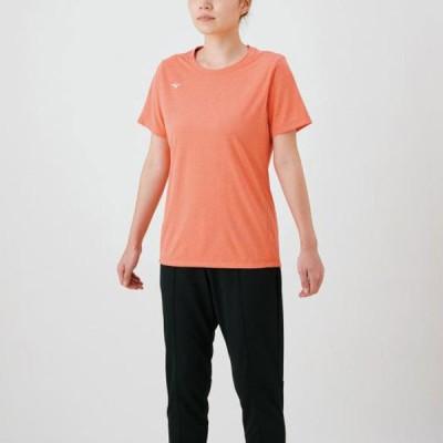 Tシャツ(レディース) 【MIZUNO】ミズノ トレーニングウエア Tシャツ (32MA1311)