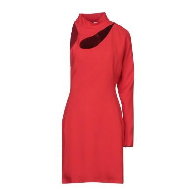 ALBAGÍA ミニワンピース&ドレス レッド 40 アセテート 79% / レーヨン 21% / ポリエステル ミニワンピース&ドレス