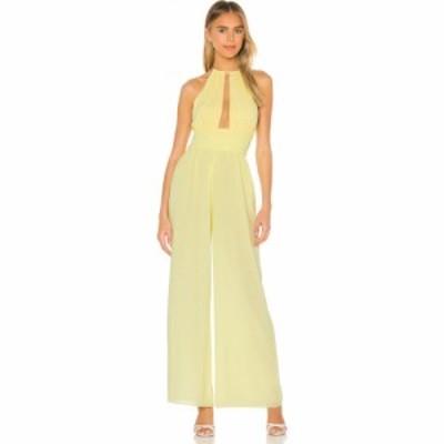 エヌビーディー NBD レディース オールインワン ジャンプスーツ ワンピース・ドレス Indira Jumpsuit Pastel Yellow