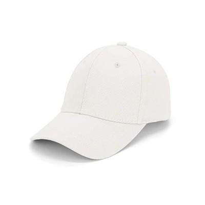 Durio Womens Baseball Hat for Men Adjustable Baseball Caps Unisex Dad Hats for Men and Women White