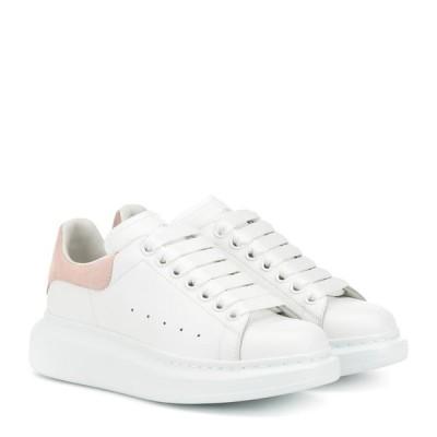 アレキサンダー マックイーン Alexander McQueen レディース スニーカー シューズ・靴 leather sneakers White/Patchouli