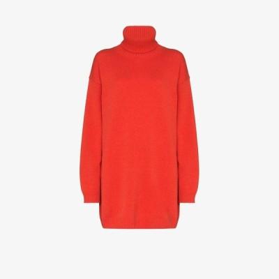 ゲージ81 GAUGE81 レディース ニット・セーター トップス oversized cashmere sweater orange
