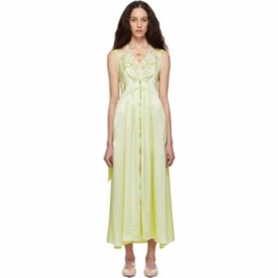 ステラ マッカートニー Stella McCartney レディース ワンピース ワンピース・ドレス yellow satin high low dress