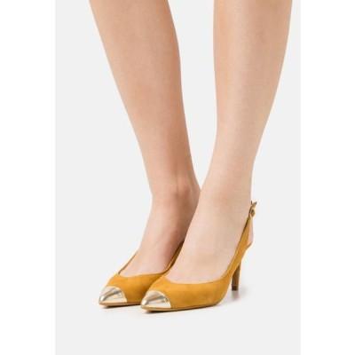 テッドベーカー レディース 靴 シューズ KINNIP - Classic heels - yellow