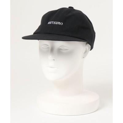 帽子 キャップ 【坩堝】LOGO 6PANEL CAP / 【ルツボ】ロゴ 6パネル キャップ オーバーライド