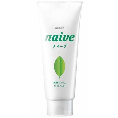 クラシエホームプロダクツ株式会社 植物性ナイーブ100% 洗顔フォーム <お茶の葉エキス配合>やすらぎ感のあるグリーンティの香り 130g <洗顔料>