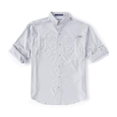 コロンビア メンズ シャツ トップス PFG Tamiami II Long-Sleeve Woven Shirt Cool Grey