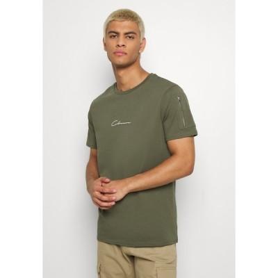 クロージャ ロンドン Tシャツ メンズ トップス UTILITY TEE - Print T-shirt - khaki