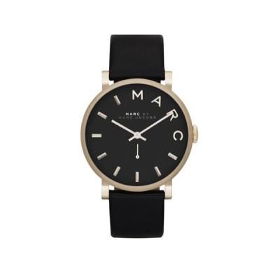 マークバイマークジェイコブス 時計/ベイカー/MBM1269/ブラック×ブラックレザー