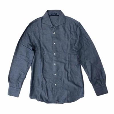 【新品】 Geniali ジェニアーリ イタリアンクラシックシャツ (ミラノ Milano) 123888 【中古】