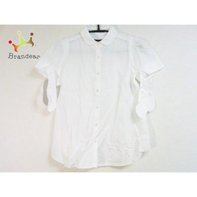 ドゥーズィエム DEUXIEME CLASSE 半袖シャツブラウス レディース 美品 - 白 新着 20200526