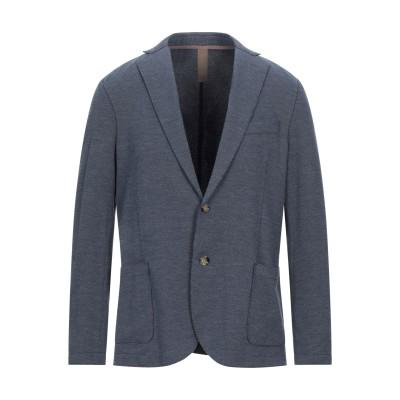 イレブンティ ELEVENTY テーラードジャケット ブルー 50 コットン 82% / ポリエステル 18% / ポリウレタン テーラードジャケット