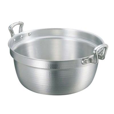 キング アルミ 打出 料理鍋(目盛付)48cm【 ガス専用鍋 】