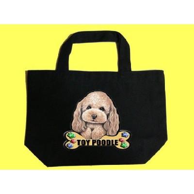 犬 トートバッグ トイプードル 60 カラフル キャンバス お散歩バッグ/可愛い バック オーダーメイド オリジナル グッズ