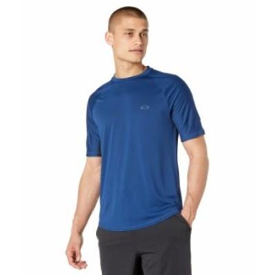 オークリー メンズ シャツ トップス Tech Knit Short Sleeve Tee Dark Blue