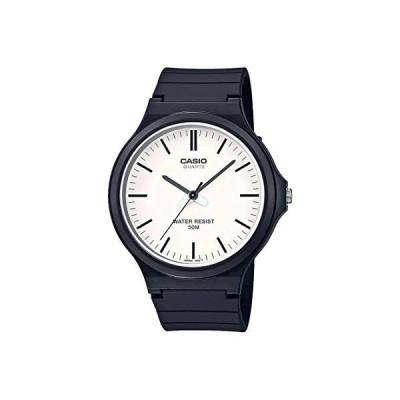 腕時計 カシオ メンズ MW-240-7EVCF Casio Classic Quartz Watch with Resin Strap, Black, 21.45 (Model: M