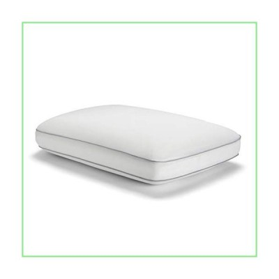 Sealy Essentials Cool & Comfort Reversible Cooling Pillow, Memory Foam, Standard/Queen, White 並行輸入品