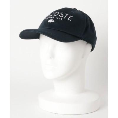 帽子 キャップ LACOSTE (ラコステ) ツイルキャップ