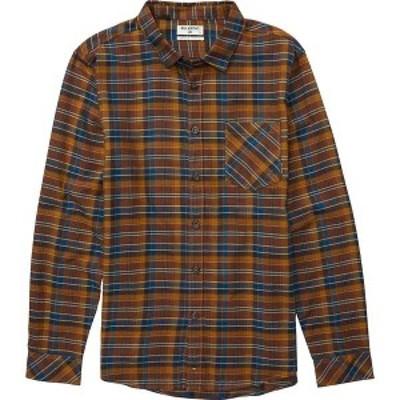 ビラボン メンズ シャツ トップス Billabong Men's Freemont Flannel Shirt Hash