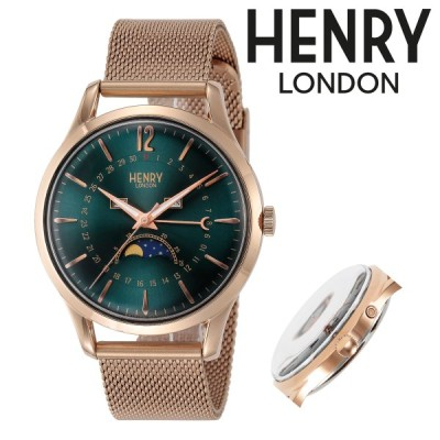 ヘンリーロンドン 腕時計 STRATFORD(ストラトフォード) HL39-LM-0210 メンズ レディース HENRYLONDON ステンレススチール