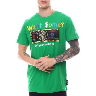 スウィッチ SWITCH メンズ Tシャツ トップス bill graphic rhinestone tee Green