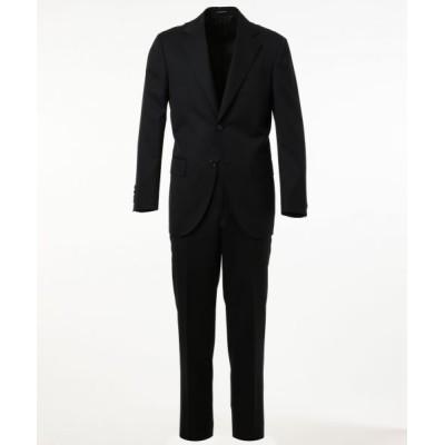 J.PRESS/ジェイプレス 【HIGHLANDS PEPPIN MERINO】エレガンスツイル スーツ ブラック系 A6
