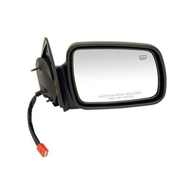 Dorman 955-245 Passenger Side Power Door Mirror - Heated for Select Jeep Models, Black