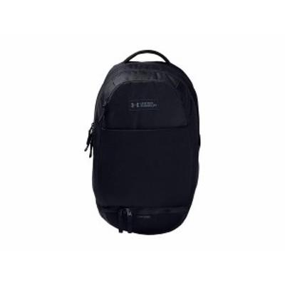アンダーアーマー メンズ バックパック・リュックサック バッグ Recruit 3.0 Backpack Black/Pitch Gra