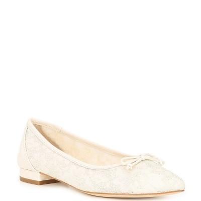 アントニオメラニー レディース サンダル シューズ Pippo Embellished Ballet Flats Cloud White