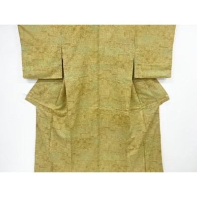 リサイクル 切りばめ風花更紗模様小紋着物