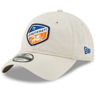 ニューエラ メンズ 帽子 アクセサリー FC Cincinnati New Era Core Classic 9TWENTY Adjustable Hat Tan