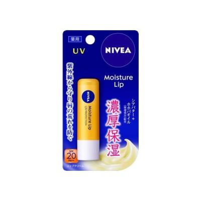 ニベア モイスチャーリップ UV 3.9g KAO