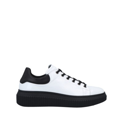 D PLUS® スニーカー&テニスシューズ(ローカット) ホワイト 37 革 スニーカー&テニスシューズ(ローカット)