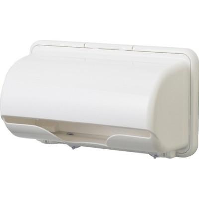 プラススマート キッチンペーパーホルダー ピュアホワイト (1個)