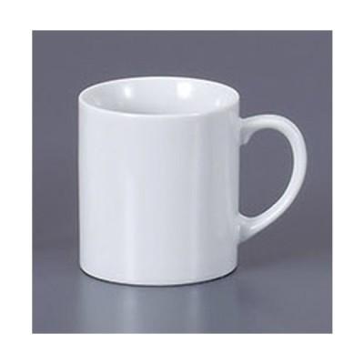 マグカップ 白切立ミロマグ [10.4 x 7.2 x 8cm 240cc]  料亭 旅館 和食器 飲食店 業務用