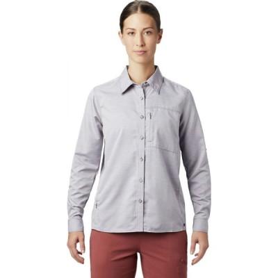 マウンテンハードウェア Mountain Hardwear レディース ブラウス・シャツ トップス Canyon Long - Sleeve Shirt Dusted Sky
