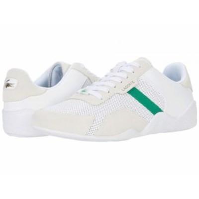 Lacoste ラコステ メンズ 男性用 シューズ 靴 スニーカー 運動靴 Hapona 120 1 White/Green【送料無料】