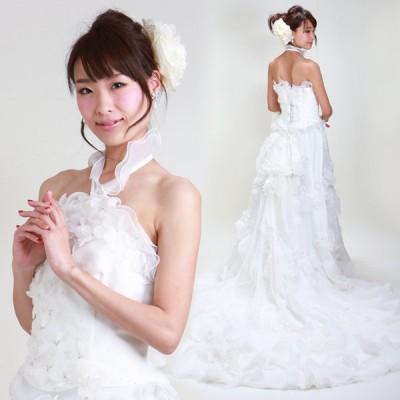 ウェディングドレス レンタル 13号-17号 マーメイドライン ウエディングドレス ドレス 貸衣装 海外挙式 海外ウェディング リモ婚 安い 格安 6319 送料無料