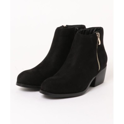 koe / スウェードサイドジップショートブーツ WOMEN シューズ > ブーツ
