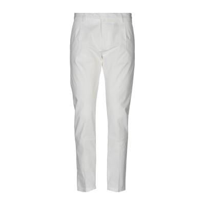 MAXI HO パンツ ホワイト 52 コットン 97% / ポリウレタン 3% パンツ