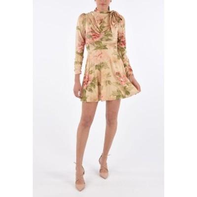 ZIMMERMANN/ジマーマン Floreal pattern レディース Floral Silk ESPIONAGE Long Sleeve Dress dk