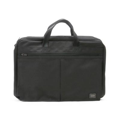【カバンのセレクション】 吉田カバン ポーター テンション ビジネスバッグ メンズ 2WAY A4 PORTER 627-07307 ユニセックス ブラック フリー Bag&Luggage SELECTION