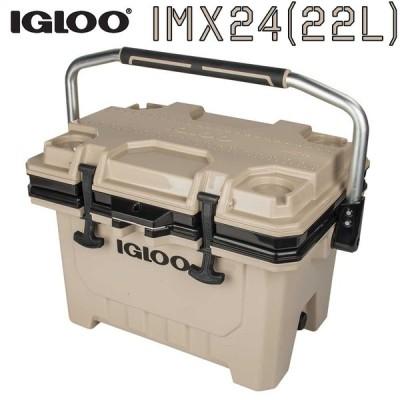 クーラーボックス イグルー 大きい IGLOO IMX 24 TAN 22L キャンプ用品