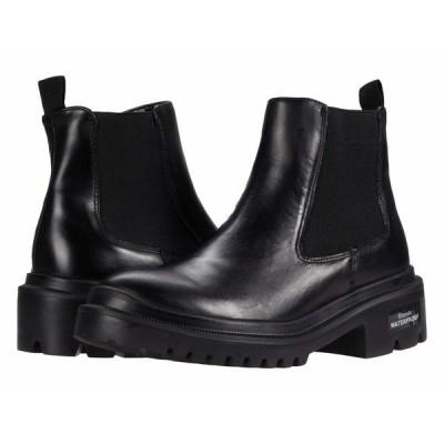 ブロンド ブーツ&レインブーツ シューズ レディース Cayla Waterproof Bootie Black Leather